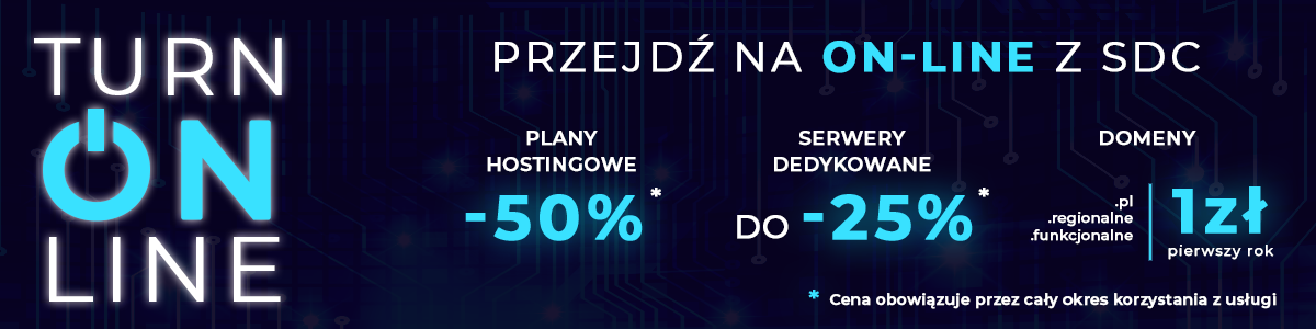 Promocja Turn On-line